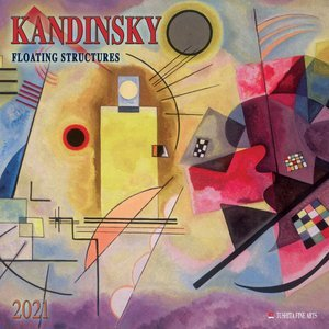 Calendrier 2021 Wassily Kandinsky - structures flottantes