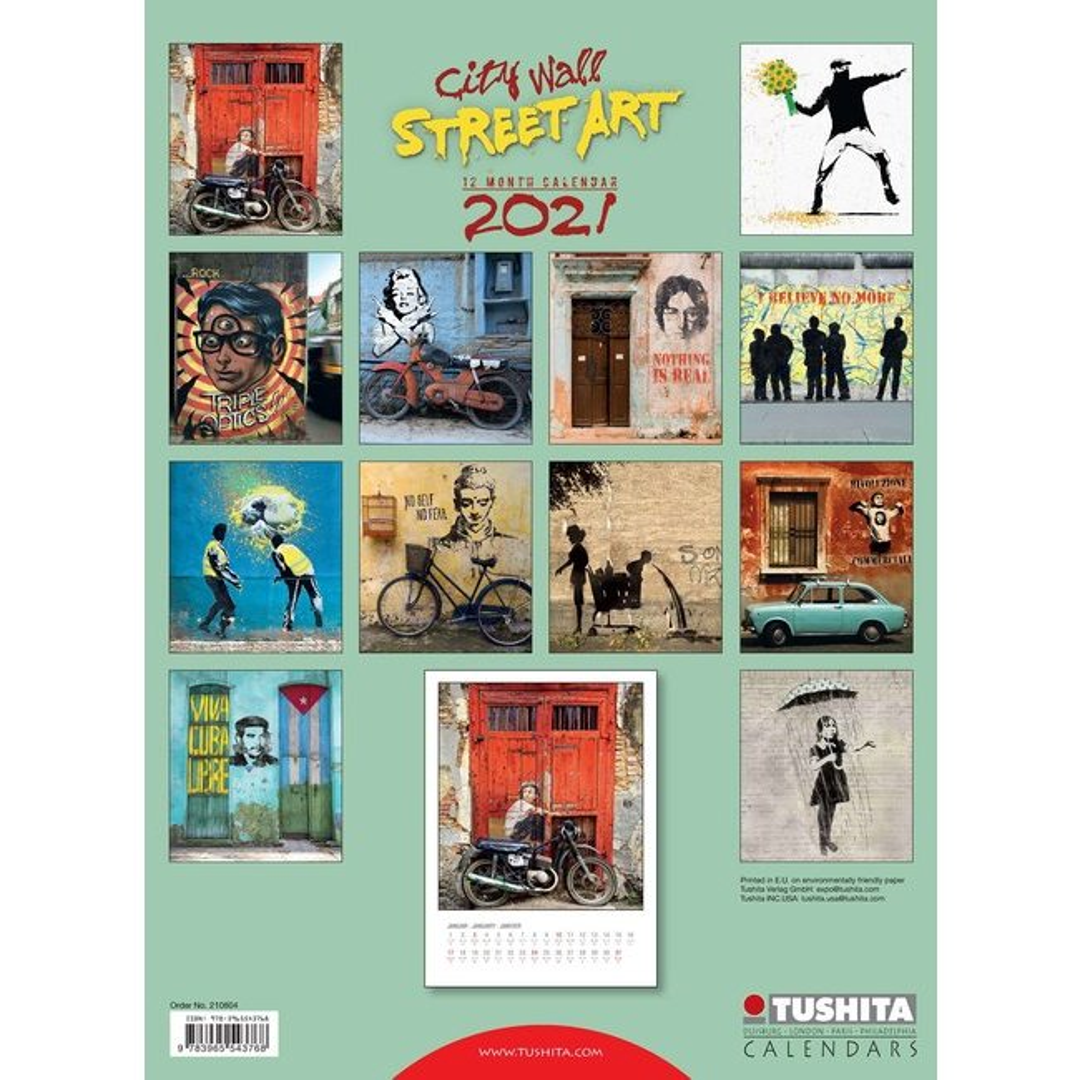 Maxi Calendrier 2021 Street art grand format