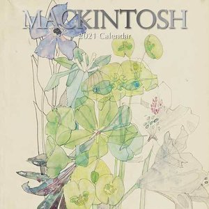 Calendrier 2021 Charles Rennie Mackintosh