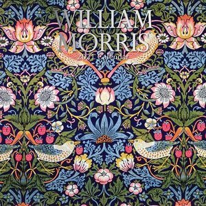 Calendrier 2021 Fleur - William Morris
