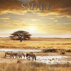 Calendrier 2021 Safari