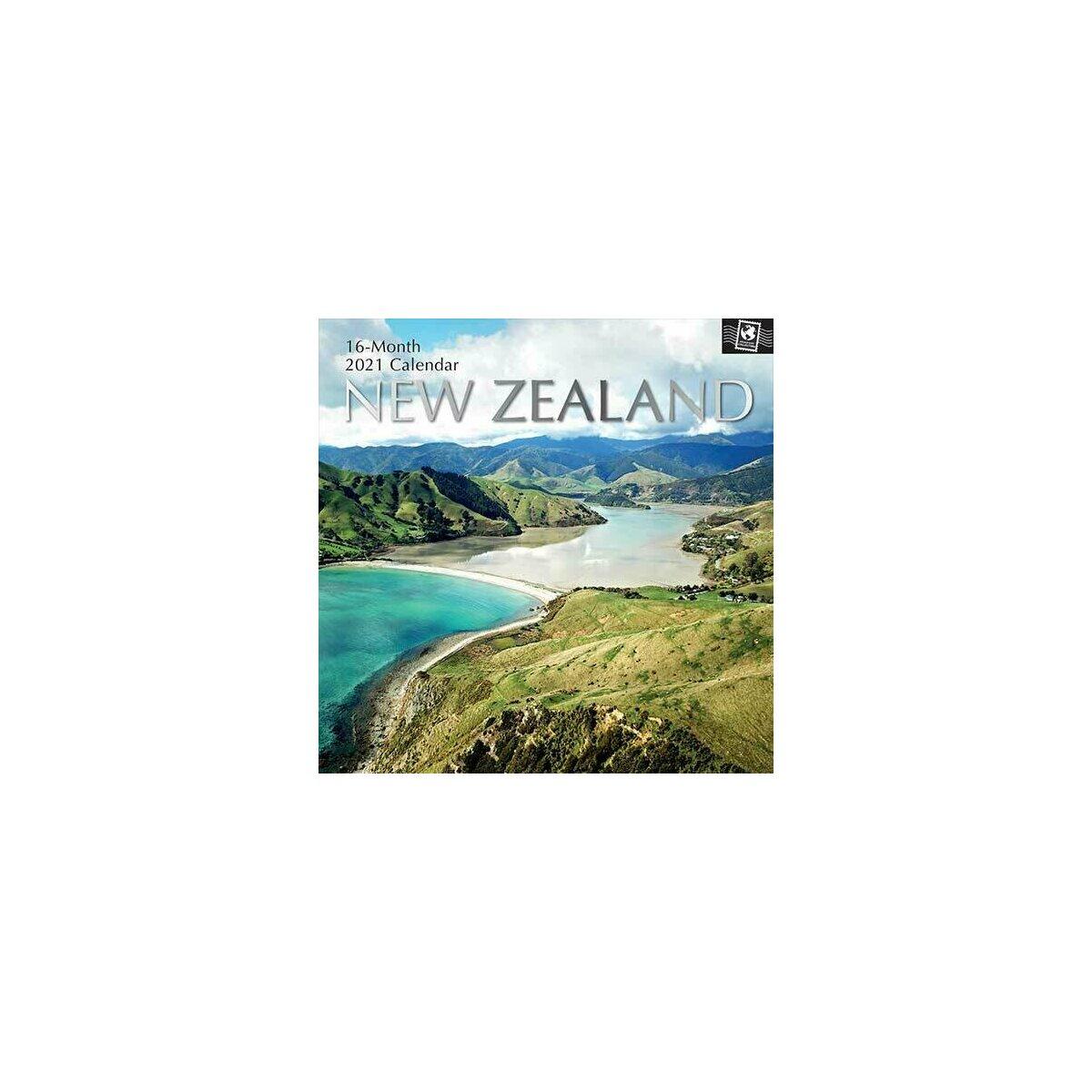 Calendrier 2021 Nouvelle zélande