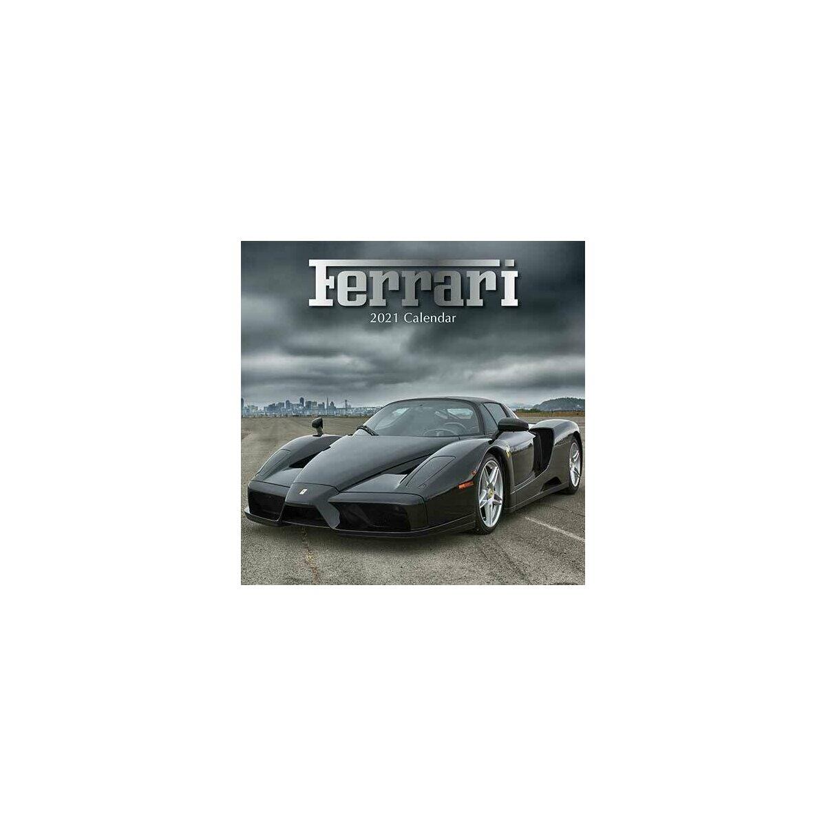 Calendrier 2021 Ferrari