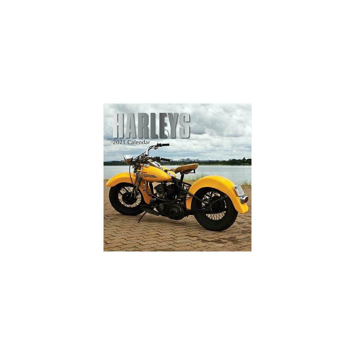 Calendrier 2021 Harley Davidson