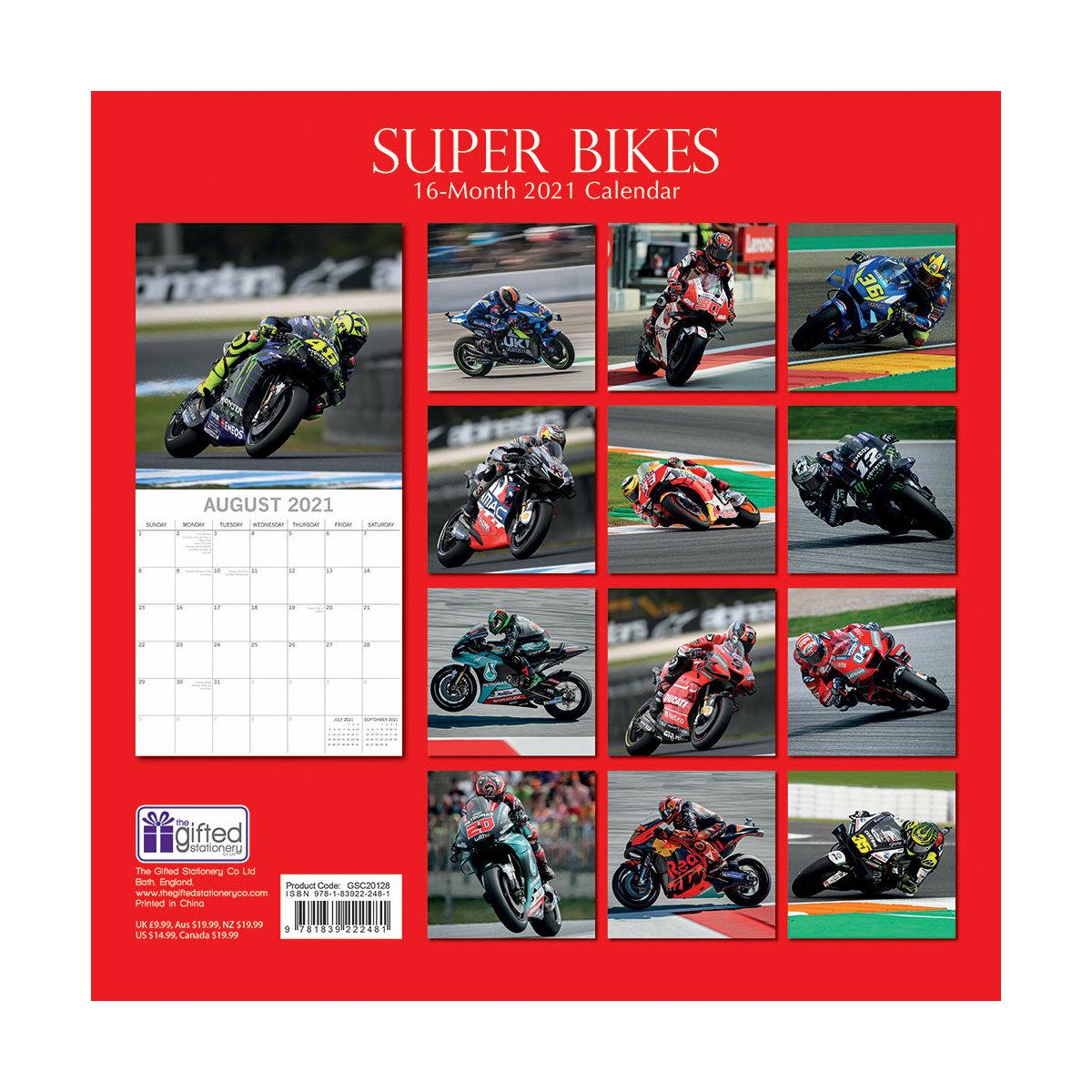 Calendrier Moto 2021 Calendrier 2021 Moto de course