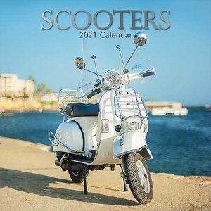 Calendrier 2021 Scooter