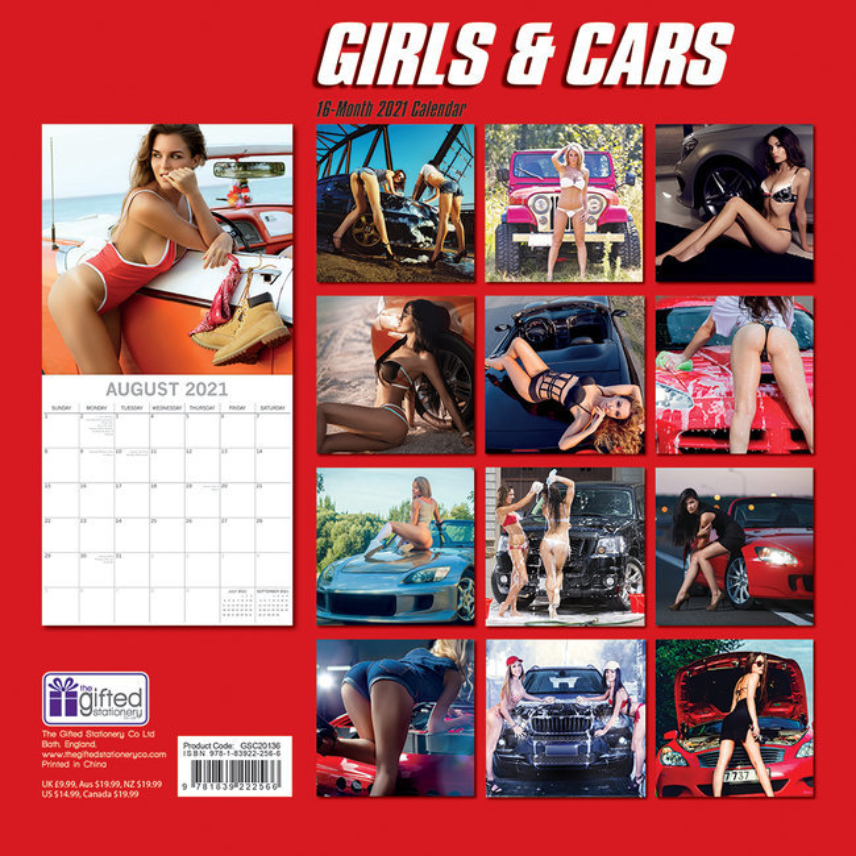 Calendrier 2021 Femme Calendrier 2021 Sexy femme et voiture
