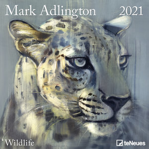Calendrier 2021 Dessin Animaux sauvage - Mark Adlington