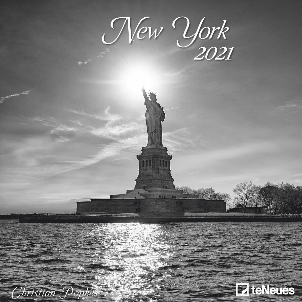 calendrier New York 2021