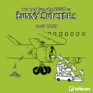 Mini calendrier 2021 Lapin suicidaire- Andy Riley