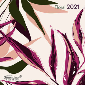 Calendrier 2021 Eco-responsable Floral