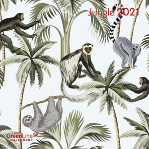 Calendrier 2021 Eco-responsable Jungle