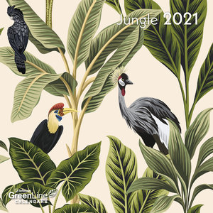 Mini calendrier 2021 Eco-responsable Jungle