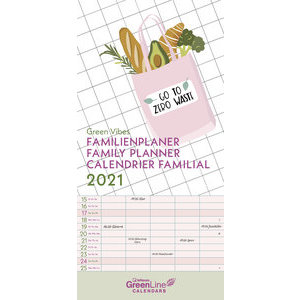 Calendrier familial 2021 Eco-responsable Nature