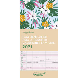 Calendrier familial 2021 Eco-responsable Fruit