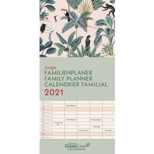 Calendrier familial 2021 Eco-responsable Jungle
