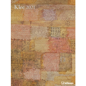 Maxi Calendrier Poster 2021 Paul Klee