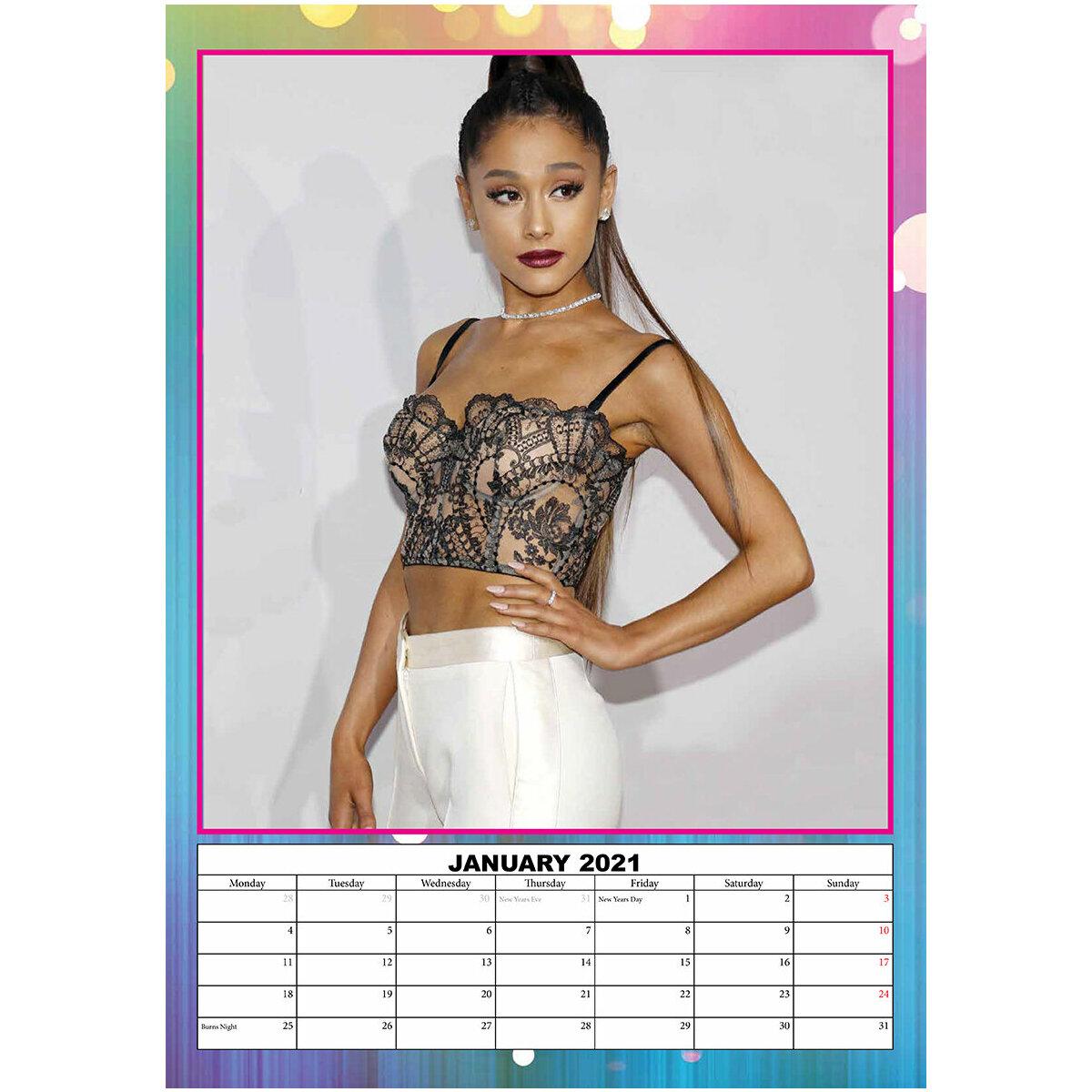 Calendrier 2021 Ariana grande A3