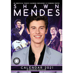 Calendrier 2021 Shawn Mendes A3