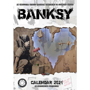 Calendrier 2021 Banksy format A3