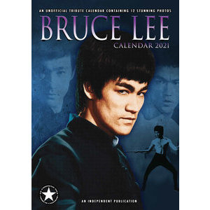 Calendrier 2021 Bruce lee format A3