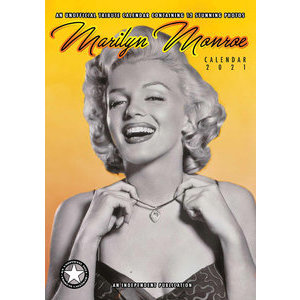 Calendrier 2021 Marilyn Monroe format A3
