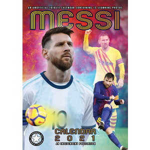 Calendrier 2021 Lionel Messi format A3