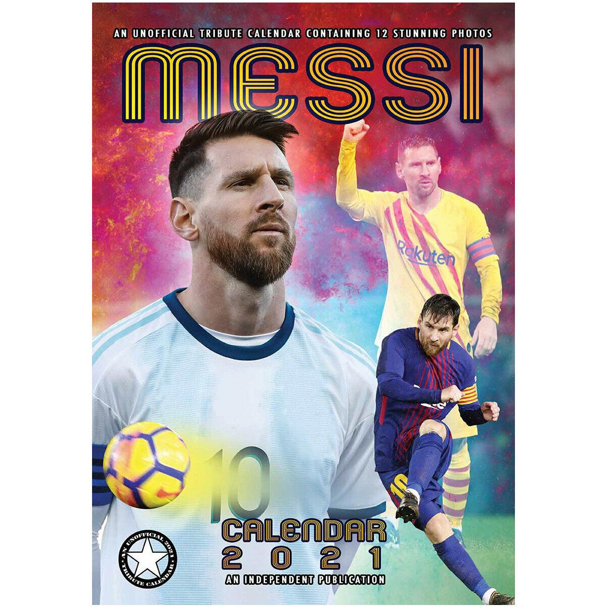Calendrier 2021 Lionel Messi format A3