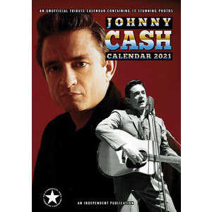 Calendrier 2021 Johnny Cash format A3