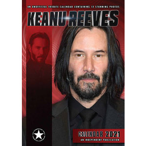 Calendrier 2021 Keanu Reeves A3