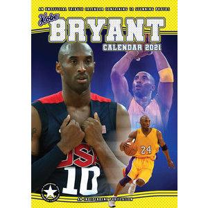 Calendrier 2021 Kobe Bryant format A3