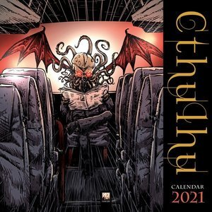 Calendrier 2021 Cthulhu - extraterrestre