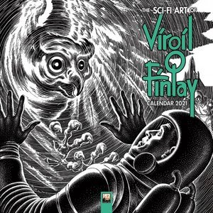 Calendrier 2021 Science fiction - Virgil Finlay