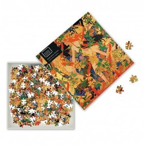 Puzzle 1000 pcs La chasse - Robert Burns