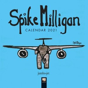 Mini calendrier 2021 Spike Milligan - humoristique