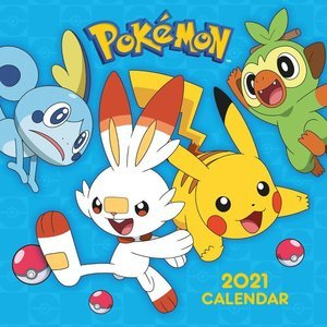 Calendrier 2021 Pokemon
