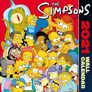 Calendrier 2021 Simpsons