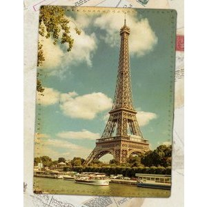 Carnet de note Paris vintage