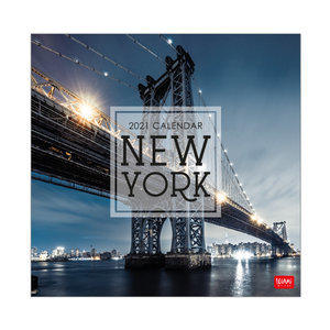 Calendrier 2021 New York