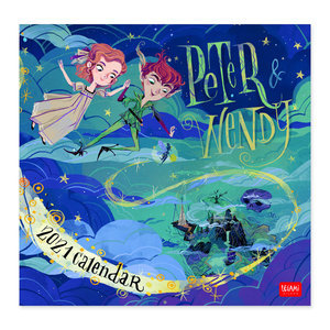 Calendrier 2021 Peter pan et Wendy