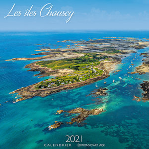 Calendrier 2021 Iles Chausey