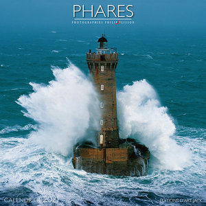 Calendrier 2021 Phare -Philipp Plisson