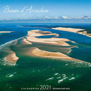 Calendrier chevalet 2021 Bassin d'arcachon