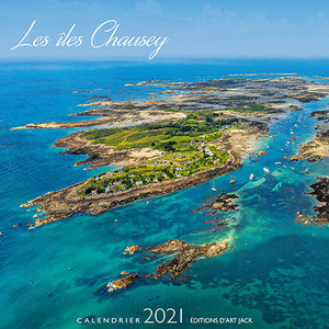 Calendrier chevalet 2021 Iles Chausey