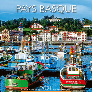 Calendrier chevalet 2021 Pays basque port