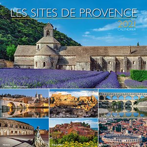 Calendrier chevalet 2021 Les plus beaux sites de Provence