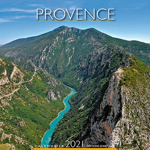 Calendrier chevalet 2021 Provence Gorges
