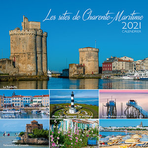 Calendrier chevalet 2021 Les plus beaux sites de Charente maritime