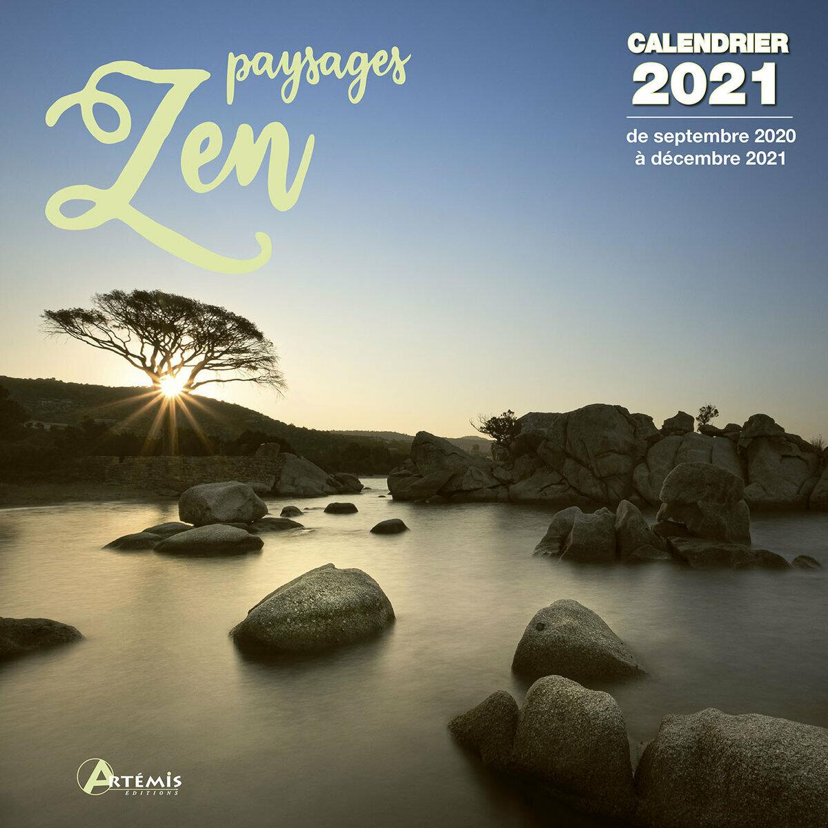 Calendrier 2021 Paysage zen
