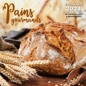 Calendrier 2021 Pains gourmands